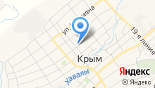 Крымская средняя общеобразовательная школа №5 на карте
