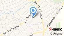 Симон на карте