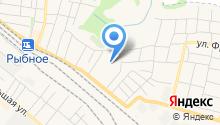 Рыбновская районная ветеринарная станция на карте