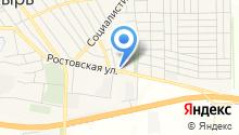 Анив на карте