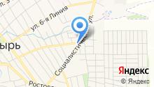 Арамат на карте