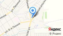 АЗС на Большесальской на карте