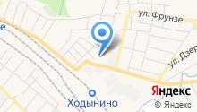 Есенинн на карте