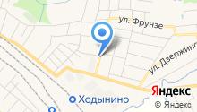 Рябинка на Рябиновой на карте