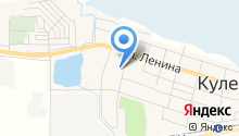 Кулешовская средняя общеобразовательная школа №16 Азовского района на карте