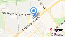 1-й Белорусский на карте