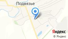 Подвязьевская средняя школа на карте