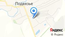 Подвязьевская средняя общеобразовательная школа на карте