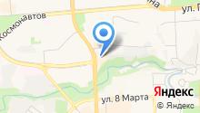 Langery на карте