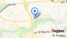 Perche на карте