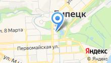 Mercure Липецк Центр на карте