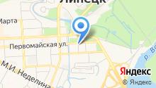 Тамбовкредитпромбанк на карте