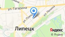 Комиссия по делам несовершеннолетних и защите их прав Правобережного округа города Липецка на карте