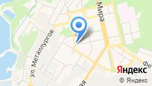 Липецкий областной наркологический диспансер на карте