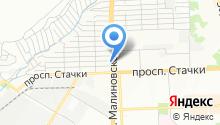 100 zaitsev на карте