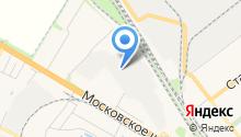 Янтарное на карте