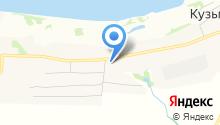 Белый кречет на карте