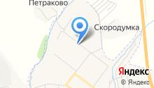 Корзинка Вологодская на карте