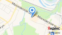 Хлебный домик №1 на карте