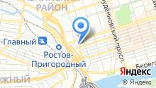 1С: Франчайзи на карте