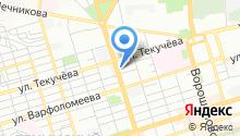 Delta на карте