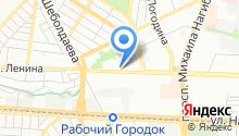 Управление жилищно-коммунального хозяйства Октябрьского района г. Ростова-на-Дону на карте