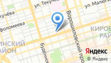 DM на карте