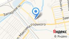 Донводсервис на карте