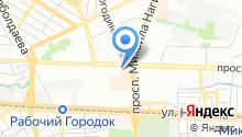 Почтовое отделение №38 на карте