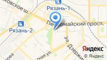 Бюро правовой защиты на карте
