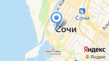Central Hostel Sochi на карте