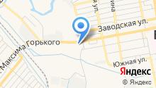 Автомойка на ул. Максима Горького на карте