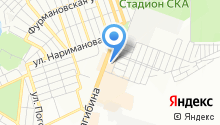 Asterisco на карте