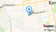 Новая Пальмира на карте