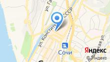 Franmer Сочи на карте