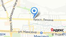 Управление Судебного департамента в Ростовской области на карте