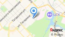 Рязанский государственный радиотехнический университет на карте
