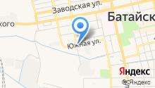 Батайское ГОРПО на карте