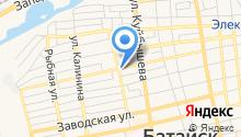 Элекснет на карте