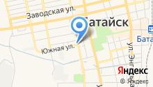 Ростовские хлебцы на карте