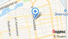 Букетница на карте