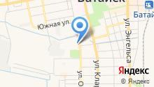 Архив Администрации г. Батайска на карте