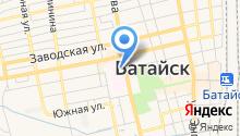 Главное бюро медико-социальной экспертизы по Ростовской области на карте