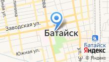 Отдел вневедомственной охраны при МВД России по г. Батайску на карте