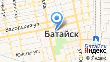 Отдел полиции Управления МВД России по г. Батайск на карте