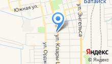Мировые судьи г. Батайска на карте