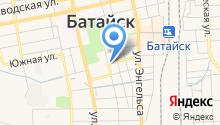 Магазин овощей и фруктов на ул. Урицкого на карте