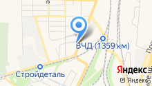 СМК-ЮГ на карте