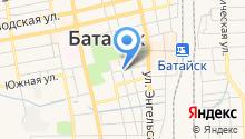 Управление по архитектуре и градостроительству г. Батайска на карте