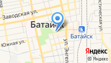 Центральная библиотека им. М. Горького на карте